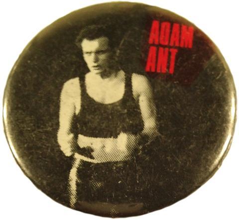 Adam Ant Pin
