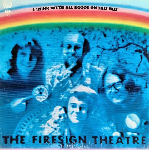 "Firesign Theatre Vinyl 12"""