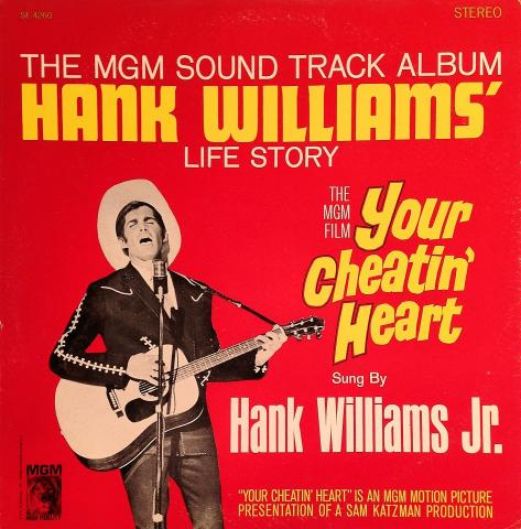 "Hank Williams Vinyl 12"""