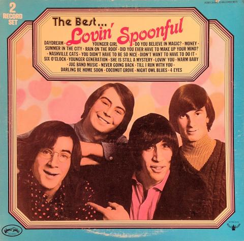 "Lovin' Spoonful Vinyl 12"""