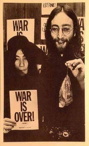 John & Yoko Handbill