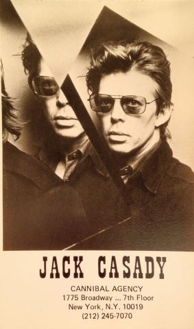 Jack Casady Handbill