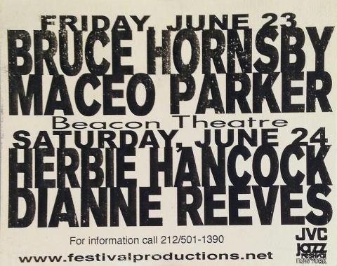 Bruce Hornsby Handbill