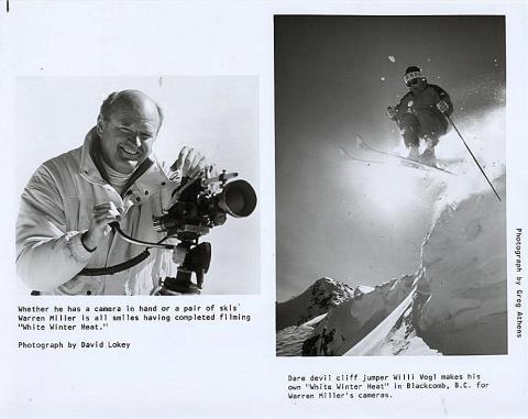 Warren Miller's White Winter Heat Promo Print