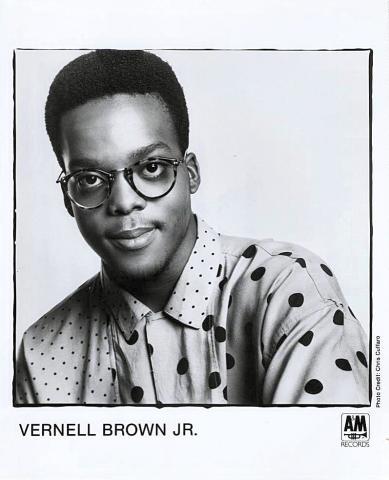 Vernell Brown Jr. Promo Print