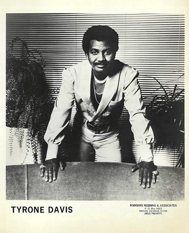 Tyrone Davis Promo Print