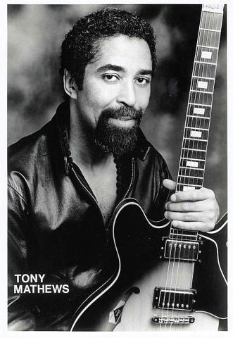 Tony Mathews Promo Print