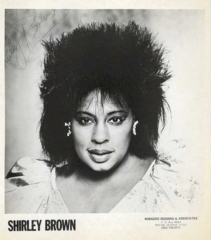 Shirley Brown Promo Print
