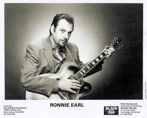 Ronnie Earl Promo Print