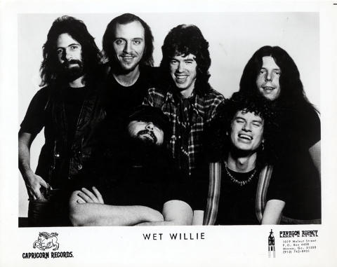 Wet Willie Promo Print