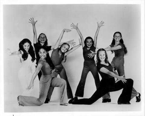 West Coast Dancers Promo Print