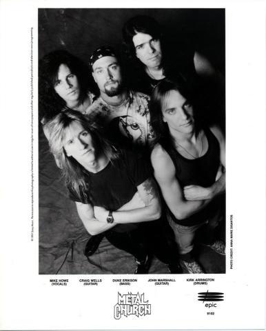 Metal Church Promo Print