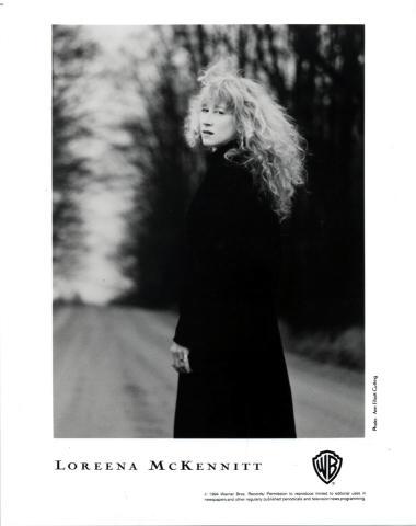 Loreena McKennitt Promo Print