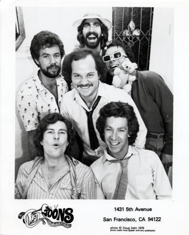 The Toons Promo Print