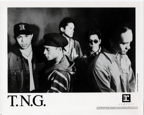 T.N.G. Promo Print