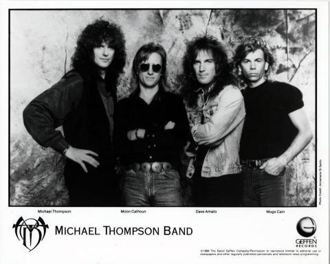 Michael Thompson Band Promo Print