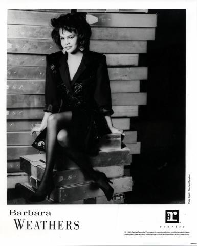 Barbara Weathers Promo Print