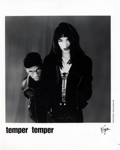 Temper Temper Promo Print