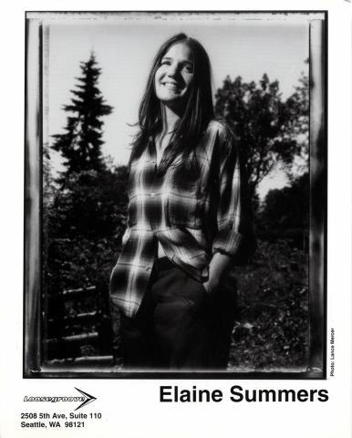 Elaine Summers Promo Print