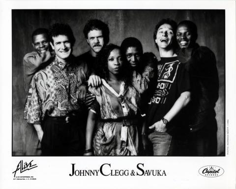 Johnny Clegg and Savuka Promo Print