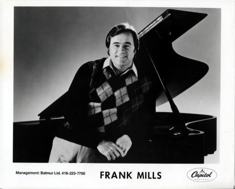 Frank Mills Promo Print