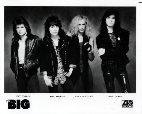 Mr. Big Promo Print