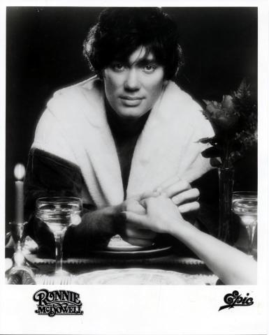 Ronnie McDowell Promo Print
