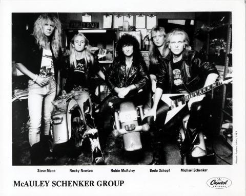 McAuley Schenker Group Promo Print