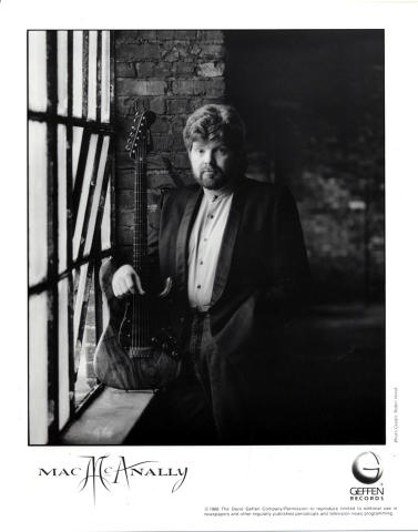 Mac McAnally Promo Print