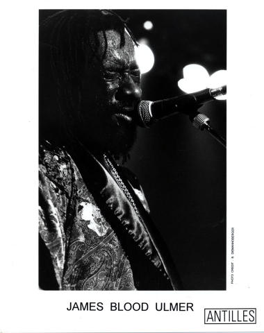 "James ""Blood"" Ulmer Promo Print"