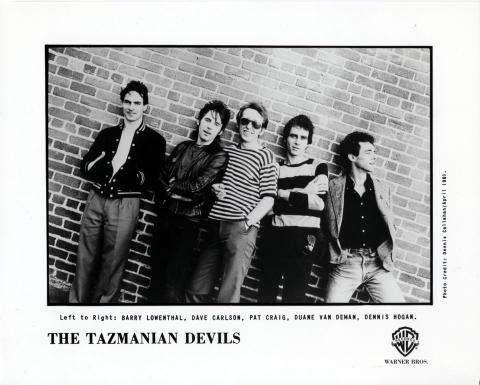 Tazmanian Devils Promo Print