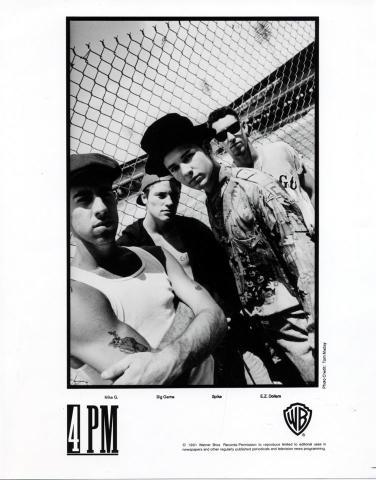 4 PM Promo Print