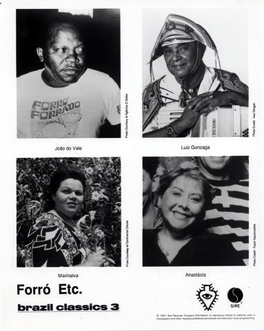 Forro Etc. Promo Print