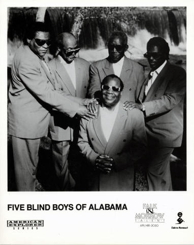 Five Blind Boys of Alabama Promo Print