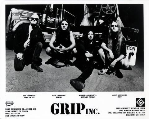 Grip Inc. Promo Print