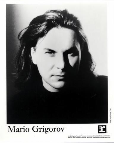 Mario Grigorov Promo Print