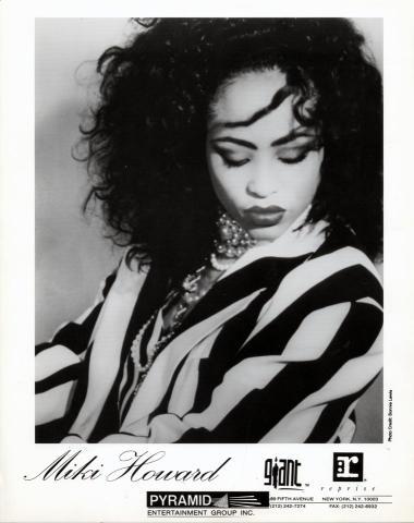 Miki Howard Promo Print
