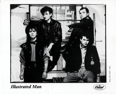 Illustrated Man Promo Print