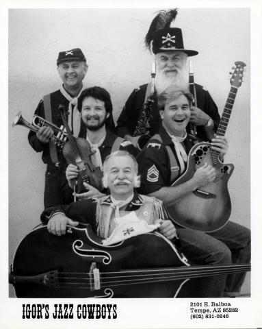 Igor's Jazz Cowboys Promo Print
