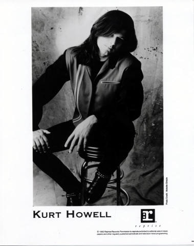 Kurt Howell Promo Print