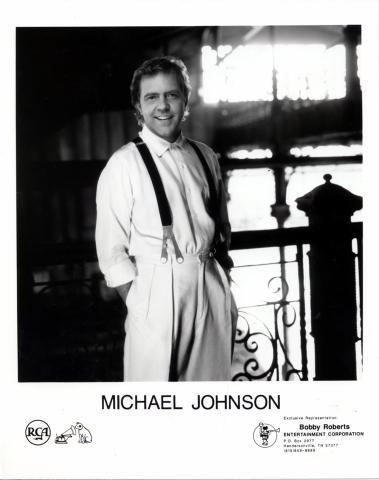 Michael Johnson Promo Print