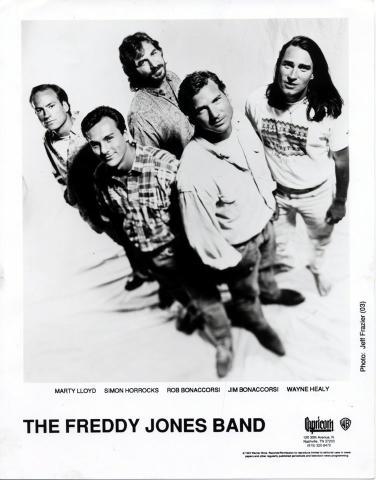 The Freddy Jones Band Promo Print