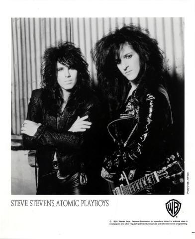 Steve Stevens Promo Print