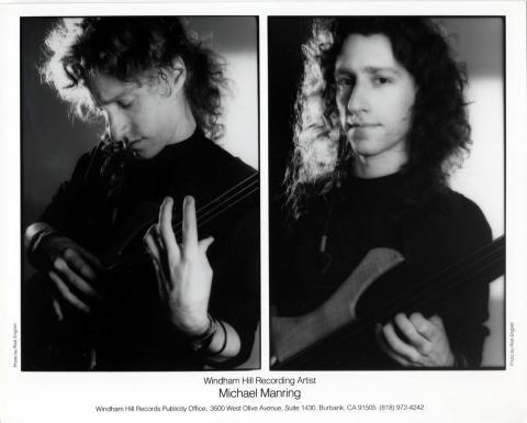 Michael Manring Promo Print