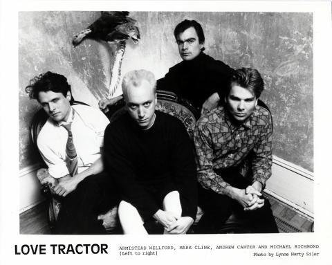 Love Tractor Promo Print