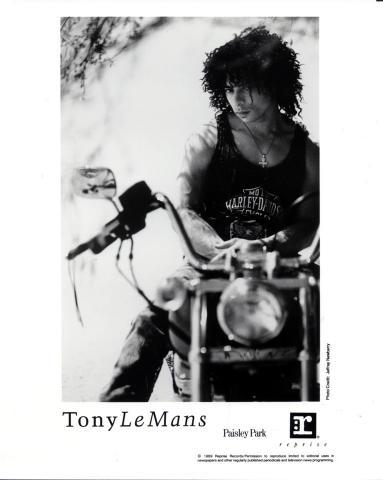 Tony Le Mans Promo Print