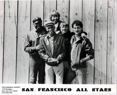 San Francisco All Star Band Promo Print