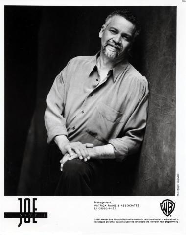 Joe Sample Promo Print