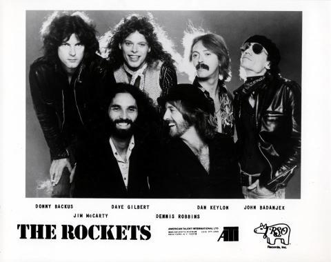 The Rockets Promo Print