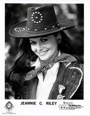 Jeannie C. Riley Promo Print